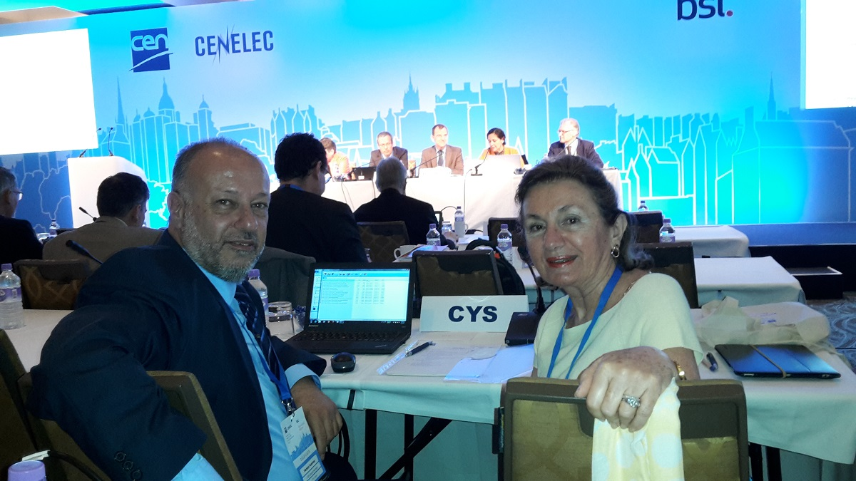 CYS DELEGATION TO CEN CENELEC GA EDINBURGH JUNE 2017